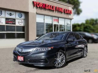 Used 2015 Acura TLX SH-AWD V6 Tech Collision Warning, Navigation, Camera for sale in Toronto, ON