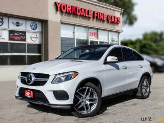 Used 2016 Mercedes-Benz C 300 GLE350d Cpe AMG, Navigation, Distronic+, Pano for sale in Toronto, ON