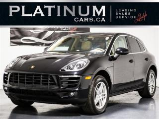 Used 2016 Porsche Macan S 340HP, CAM, PANO, Heated Cooled Seats for sale in Toronto, ON