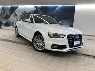 Used 2015 Audi A4 2.0T Komfort + Keyless | Rear Sensors | AWD for sale in Whitby, ON