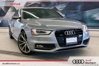 Used 2015 Audi A4 2.0T Progressiv + S-Line | Rear Cam | Nav for sale in Whitby, ON