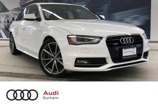 Used 2015 Audi A4 2.0T Progressiv + S-Line | Keyless | Nav for sale in Whitby, ON