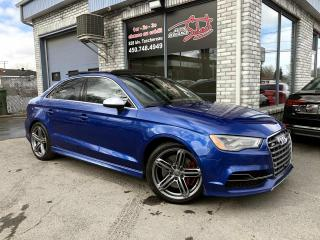 Used 2015 Audi S3 2.0T Technik quattro berline 4 portes for sale in Longueuil, QC