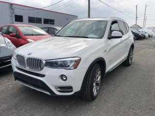 Used 2016 BMW X3 xDrive28i 4 portes TI for sale in Québec, QC