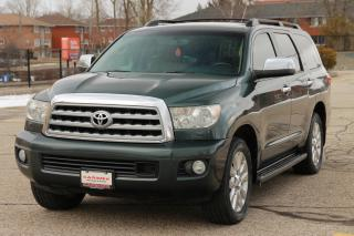 Used 2008 Toyota Sequoia Platinum 5.7L V8 NAVI | DVD | 8 Passenger | CERTIFIED for sale in Waterloo, ON
