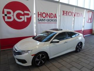 Used 2016 Honda Civic édition Touring for sale in St-Georges, QC