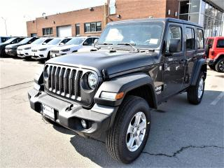 New 2019 Jeep Wrangler Unlimited Sport S|4X4|2.0L|CONVENIENCE GROUP|UCONN for sale in Concord, ON