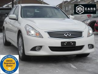 Used 2011 Infiniti G37 X G37x AWD NAVIGATION for sale in Ottawa, ON