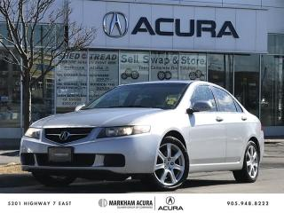 Used 2004 Acura TSX Sedan 5AT for sale in Markham, ON