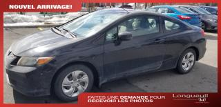 Used 2012 Honda Civic LX VENDU for sale in Longueuil, QC