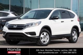 Used 2016 Honda CR-V LX AWD for sale in Lachine, QC