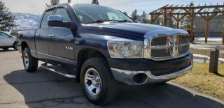 Used 2008 Dodge Ram 1500 SXT Quad Cab 4WD for sale in West Kelowna, BC