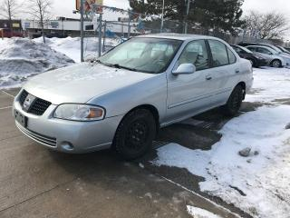 Used 2004 Nissan Sentra AUTO,4CYLENDER,$2900,SAFETY+3YEARS WARRANTY INCLUD for sale in Toronto, ON