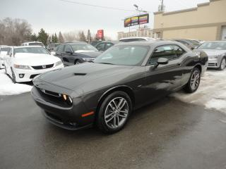Used 2018 Dodge Challenger GT AWD Cuir Toit GPS Alpine a vendre for sale in Laval, QC
