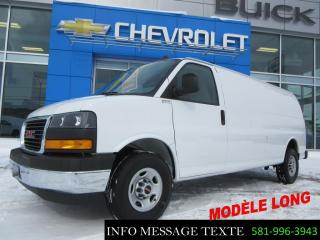Used 2018 GMC Savana CARGO Longue, Grp Chrome for sale in Ste-Marie, QC