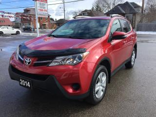 Used 2014 Toyota RAV4 LE/AWD/BACK-UP CAMERA/HEATED SEATS/BLUETOOTH for sale in Guelph, ON