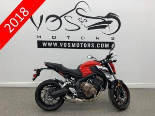 Used 2018 Honda CB650F - No Payments For 1 Year** for sale in Concord, ON