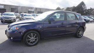 Used 2005 Mazda MAZDA3 2.3 SPORT HATCHBACK AUTO CERTIFIED 2YR WARRANTY CRUISE FOG LIGHT for sale in Milton, ON