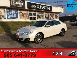 Used 2011 Lincoln MKS Base  *PRISITNE* AWD PANO-ROOF BGE-LEATH PWR-SEATS HS BT for sale in St. Catharines, ON