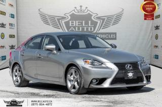 Used 2015 Lexus IS 350 AWD, NO ACCIDENT, BACK-UP CAM, SUNROOF, SENSORS, COOLED SEATS for sale in Toronto, ON