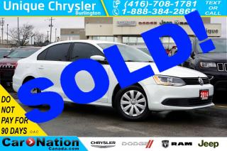 Used 2014 Volkswagen Jetta 2.0L| TRENDLINE+| HEATED SEATS| POWER GROUP & MORE for sale in Burlington, ON