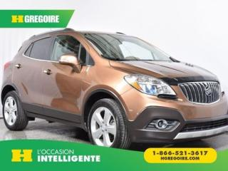 Used 2016 Buick Encore CUIR, AWD for sale in St-Léonard, QC