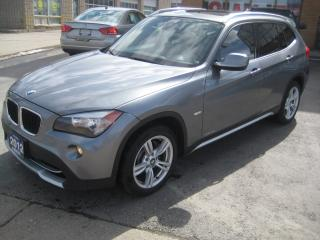 Used 2012 BMW X1 NAVIGATION/R.CAMERA/PANORAMIC ROOF for sale in North York, ON