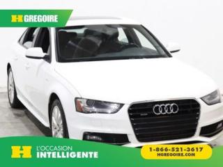 Used 2015 Audi A4 Komfort Plus Quattro for sale in St-Léonard, QC