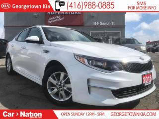 Used 2018 Kia Optima LX HEATED SEATS| ALLOYS | BLUETOOTH| WARRANTY for sale in Georgetown, ON