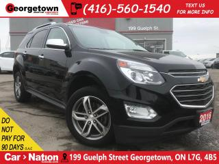 Used 2016 Chevrolet Equinox LTZ | NAVI | LEATHER | ROOF | BACK UP CAM | for sale in Georgetown, ON