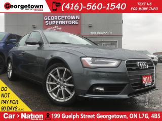 Used 2014 Audi A4 2.0 Progressiv | QUATTRO| NAVI| ROOF| CLEAN CARFAX for sale in Georgetown, ON