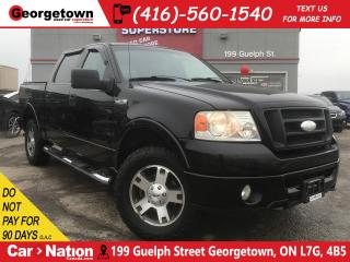Used 2007 Ford F-150 FX4 | LEATHER | CREW |4X4 | 5.4L | CAMERA |AS IS for sale in Georgetown, ON