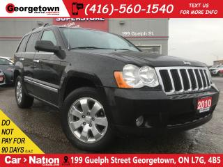 Used 2010 Jeep Grand Cherokee Limited | WHKLESALE SPECIAL | YOU CERTIFY YOU SAVE for sale in Georgetown, ON