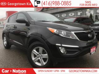 Used 2016 Kia Sportage LX | MANUAL | ONE OWNER | WARRANTY | for sale in Georgetown, ON