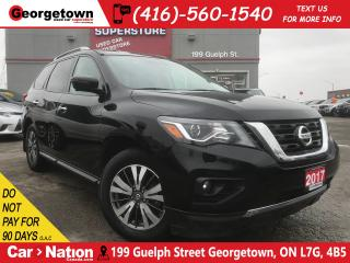 Used 2017 Nissan Pathfinder SL | 4X4 | LEATHER | 7 PASS | TOW PKG | BU CAM for sale in Georgetown, ON