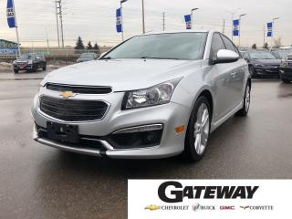 Used 2015 Chevrolet Cruze 2LT|LEATHER|NAVIGATION|SUNROOF| for sale in Brampton, ON