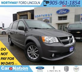 Used 2014 Dodge Grand Caravan 30TH ANNIVERSARY | NAV | REAR DVD | LEATHER | for sale in Brantford, ON