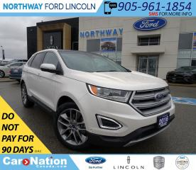 Used 2016 Ford Edge Titanium | AWD | NAV | HTD LEATHER| PANOROOF | for sale in Brantford, ON