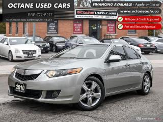 Used 2010 Acura TSX Premium Accident Free! Mint Condition! for sale in Scarborough, ON
