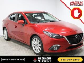 Used 2015 Mazda MAZDA3 GT MAGS CUIR for sale in Laval, QC