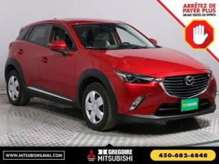 Used 2016 Mazda CX-3 GT CUIR TOIT NAV for sale in Laval, QC