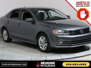 Used 2015 Volkswagen Jetta COMFORTLINE TDI for sale in Laval, QC