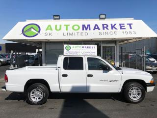 Used 2001 Dodge Dakota CREW CAB! STUNNING! LIKE NEW! for sale in Langley, BC