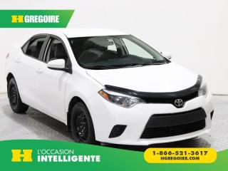 Used 2014 Toyota Corolla LE AC BLUETOOTH for sale in St-Léonard, QC