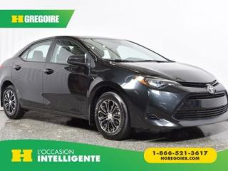 Used 2018 Toyota Corolla CE for sale in St-Léonard, QC