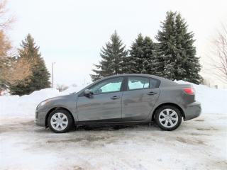 Used 2012 Mazda MAZDA3 Sedan- LOW KMS for sale in Thornton, ON