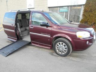 Used 2006 Buick Terraza CXL-Wheelchair Accessible Side Entry-Power for sale in London, ON