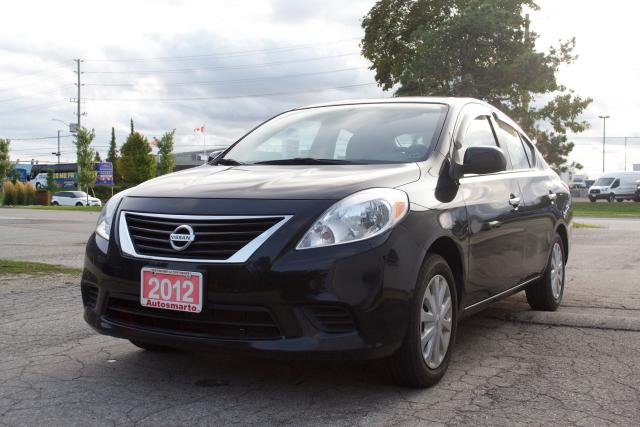 2012 Nissan Versa 1.6 SV,LOW MILEAGE