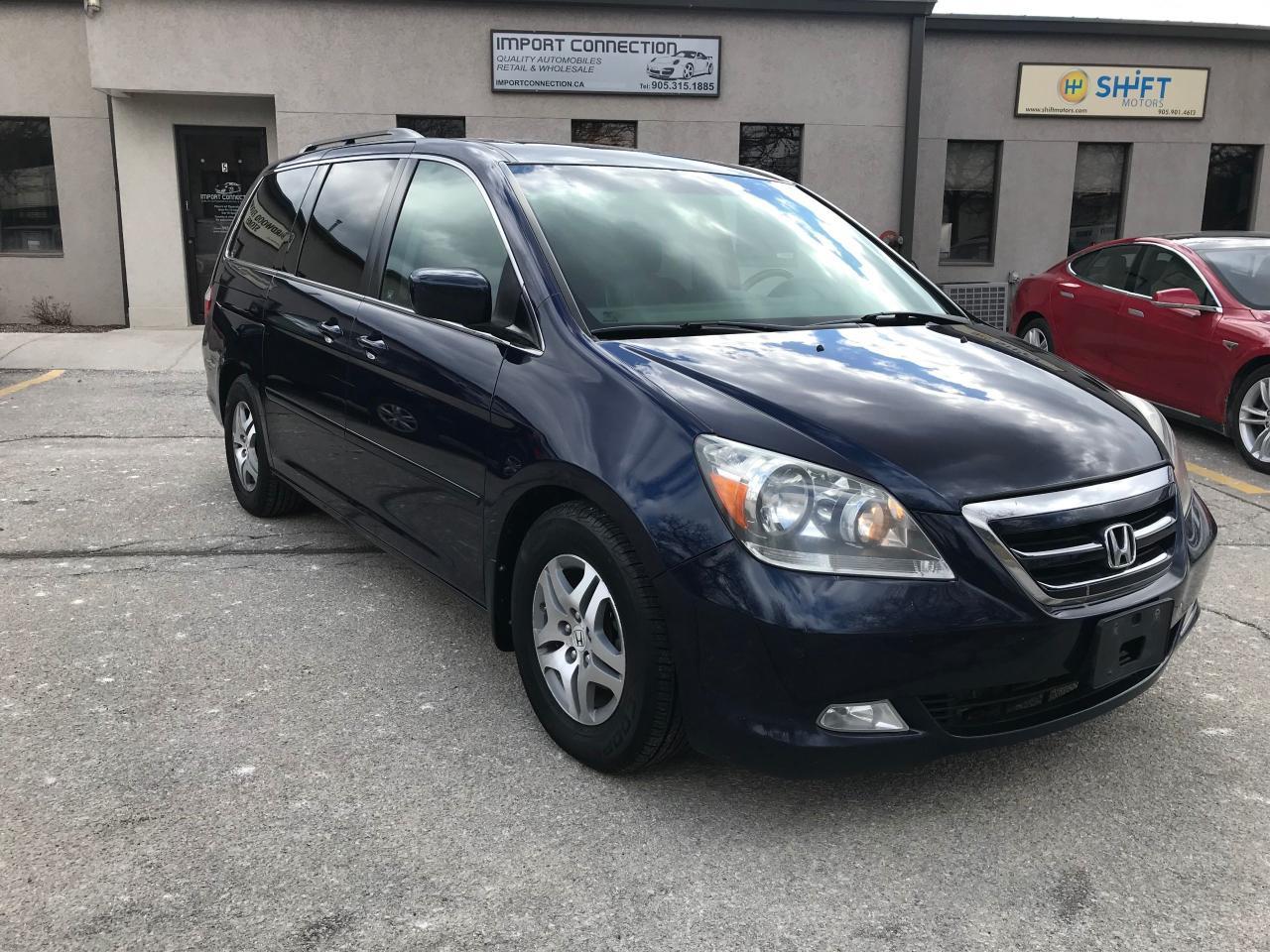 2007 Honda Odyssey Touring,NAV,DVD,SUNROOF,NO ACCIDENTS