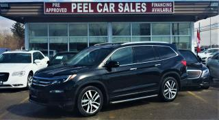 Used 2016 Honda Pilot Touring|NAVI|LEATHER|DVD| for sale in Mississauga, ON